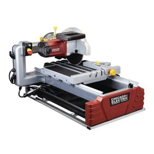 "Chicago Electric10"" Industrial Tile/Brick Saw"