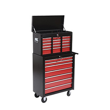 HomCom Rolling Tool Chest